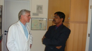 with Prof. Miess